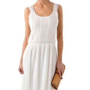 Candela Elle White Maxi Dress Small